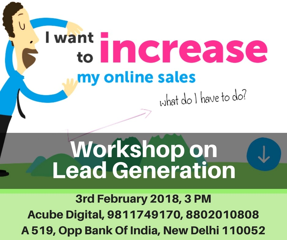 How to Generate Leads Online workshop