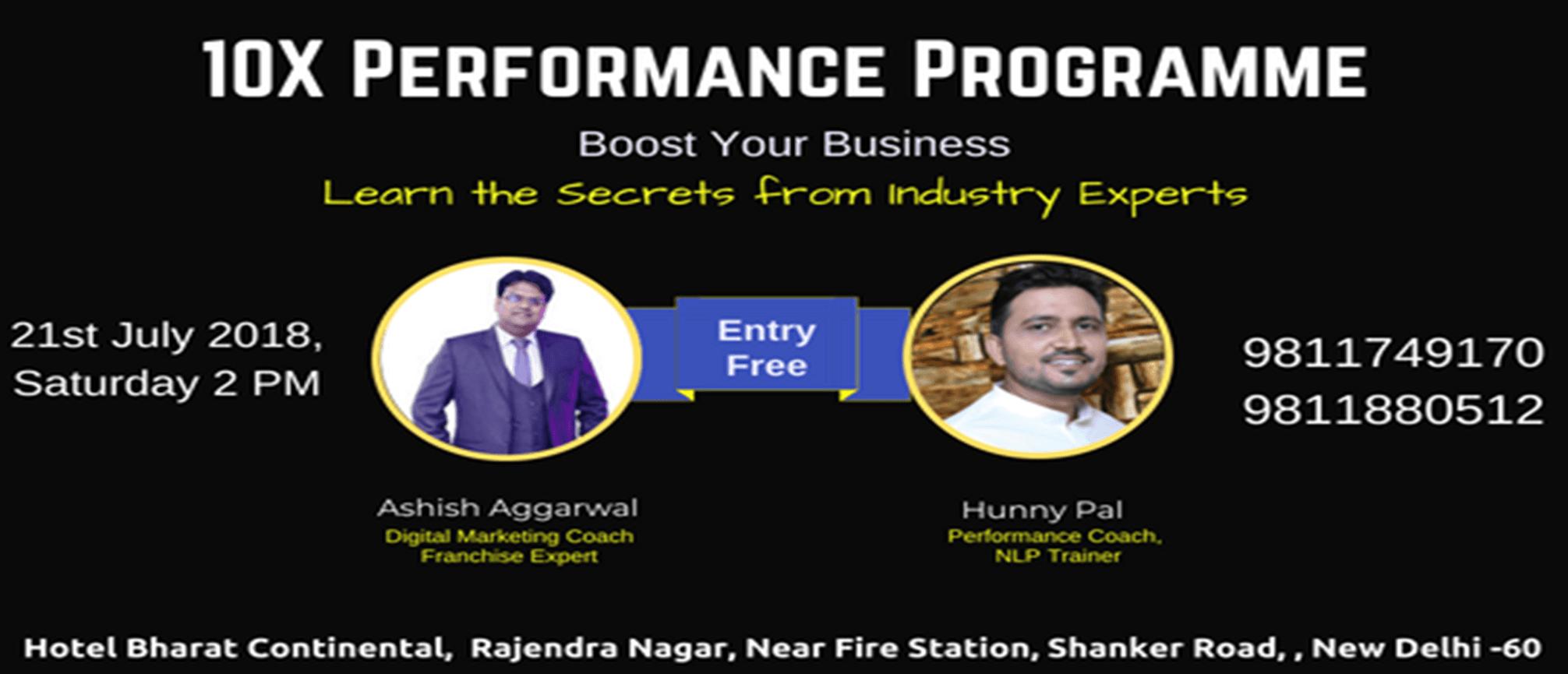 10x performance programme